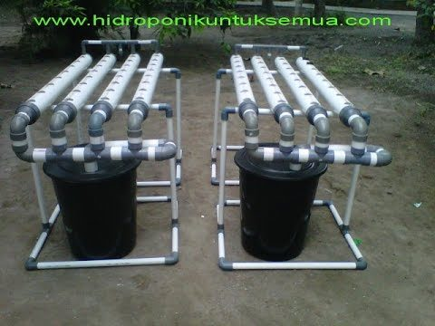 How to Make a Hydroponic System Using PVC Pipe Photo Gallery