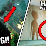 FLYING ON THE ROOF!! + SECRET NEW SON ENDING!! | Hello Neighbor Alpha 3 (Glitches + Secrets)