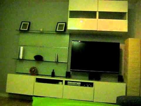 Wohnwand mit 15m LED Strips Digital RGB Teil 1