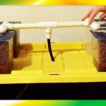 DIY Mini Aquaponics System (Home Aquarium Tank) & Hydroponics System (Ebb and Flow 4 Mini Tanks)