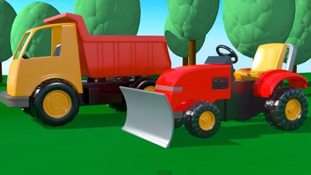 Spielplatz – 2 Bagger – Zeichentrick-Serien für Kinder