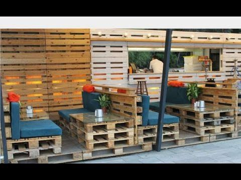 Pallet furniture ideas. Pallet furniture tutorial #2