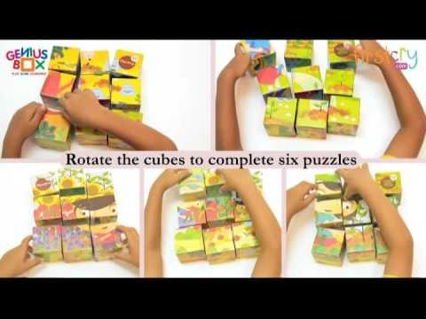 Genius Box Learning Toys for Children Garden Escapades Activity Kit