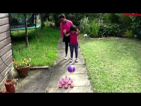 Doc McStuffins Skittles / Bowling Set Kids Garden Toy | Fun Summer Activity Nadia Amani Toys