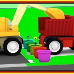 Cartoon FLOWER GARDEN! – Cartoon Cars Playground – Car Cartoons for Kids. Kid's Cartoons