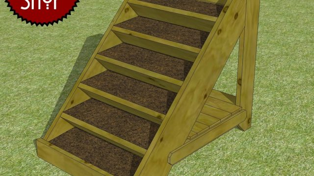 Chief's Shop Sketch of the Day: Vertical Planter With Storage