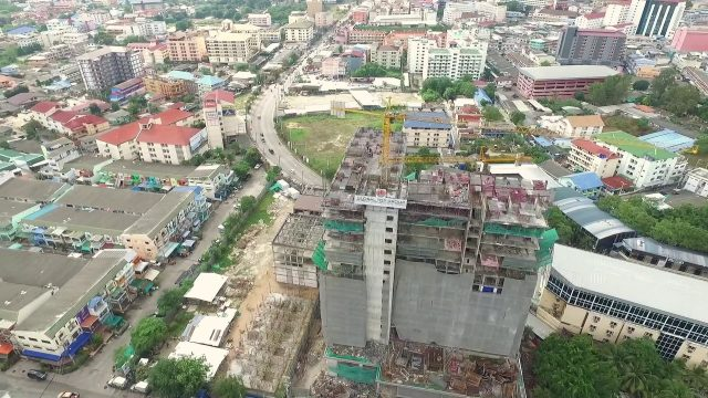 Condominium Pattaya, City Garden Tower Update January 2017