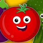 vegetables song   learn vegetables   nursery rhymes   kids songs   baby videos