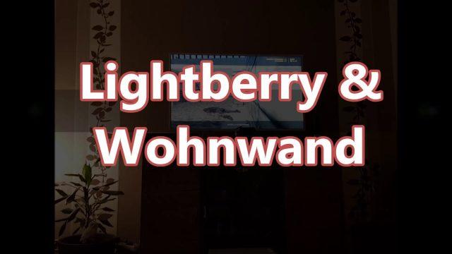 Wohnwand idee DIY wohnwand selber bauen mit raspberry pi lightberry