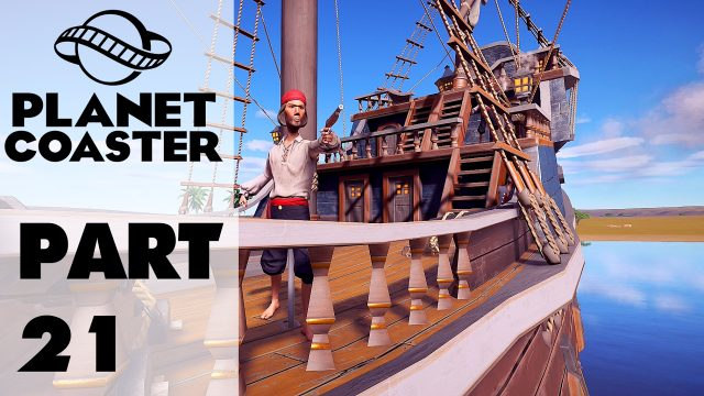 Planet Coaster Part 21 – Tour of Pirate / Tropical Area