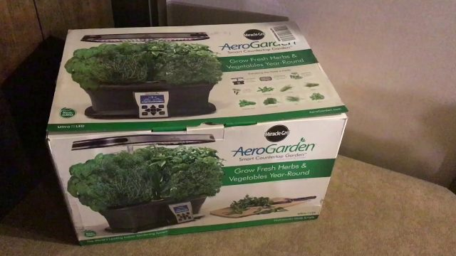 AeroGarden Ultra LED Indoor Hydroponic System Unboxing, Setup and Breakage (My Fault)