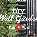 DIY Wall Garden