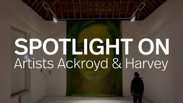 Artists Ackroyd & Harvey Grow Giant Photographs On Living Walls of Grass