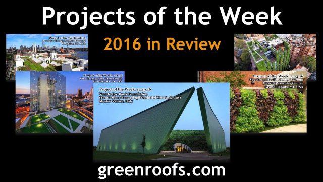 Greenroofs.com Projects of the Week 2016 in Review