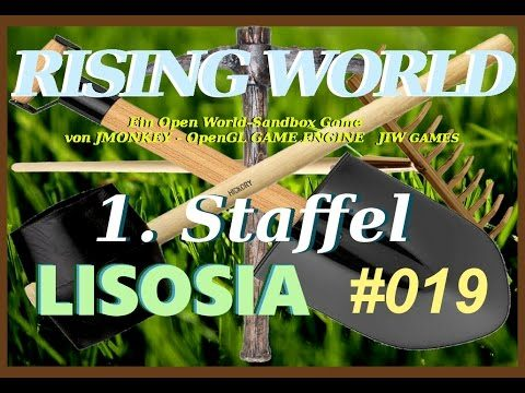Rising  World [German] Lisosia #019 German[Facecam] – Unter Dach und Fach
