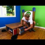 DIY: Monsters Uni room makeover part 1 Ep 18 (31.05.2013)