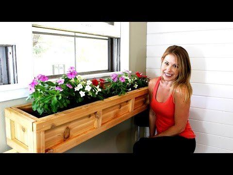 The $20 Window Planter Box – DIY Project