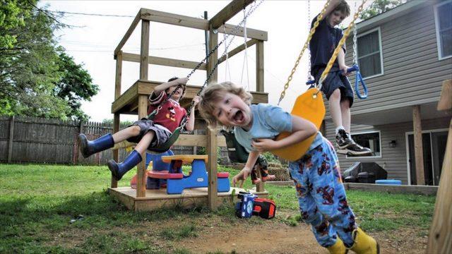 Garden Design Ideas With Children's Play Area