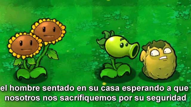 Dorkly Bits – Plants vs Zombies Wall nut Gets Bitten (sub español)