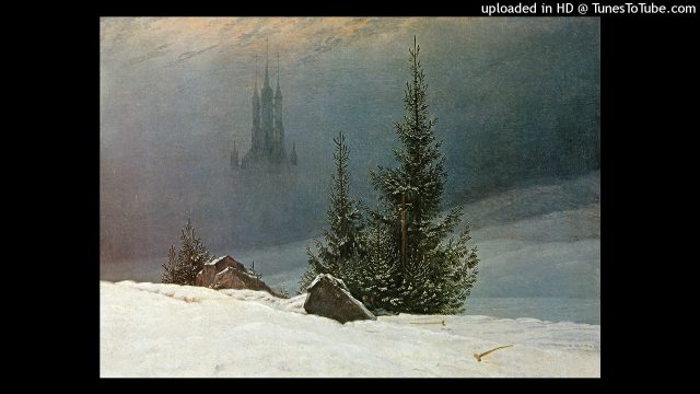 Max Dauthendey: EIN JEDER BAUM STRICH EIN SEIN GRÜNES SEGEL (Winter Gedicht)