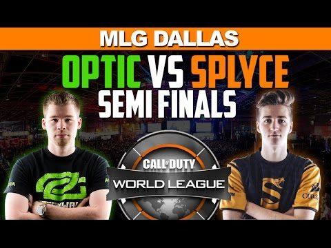 OpTic Gaming Vs Spylce MLG Dallas SemiFinals – FULL GAME