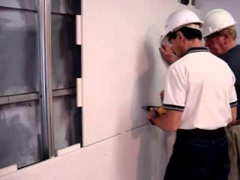 Onekin green wall partition board installation