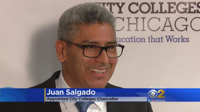 Juan Salgado Named Chancellor Of Chicago City Colleges