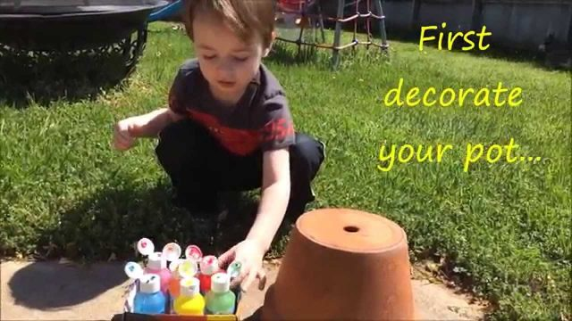 Planting a Container Herb Garden (KIDS PROJECT)