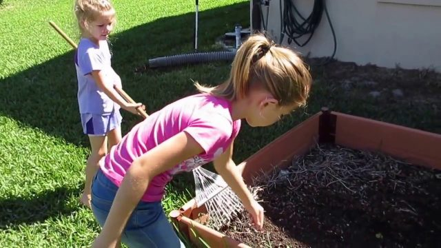Flower Gardening with Kids