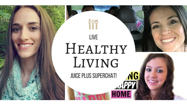HEALTHY LIVING/ JUICE PLUS SUPERCHAT