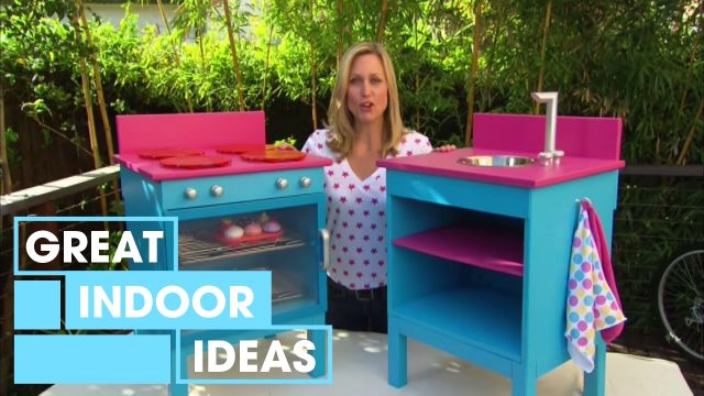 How To Build A Kids' Toy Cooktop | Indoor | Great Home Ideas
