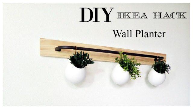 Ikea Hack | DIY Wall Planter