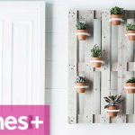 DIY PROJECT: Vertical garden hanging pots – homes+