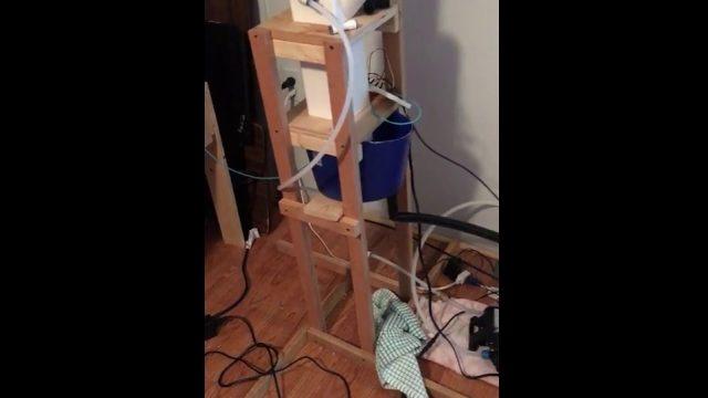 DIY High Pressure Aeroponics System