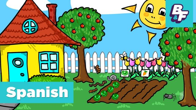 Learn Spanish STEM vocabulary in the garden with BASHO & FRIENDS – El Jardin