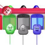 Finger Family w Candy family Colours ! Learn Color Video for kids! Garden Kids TV #6