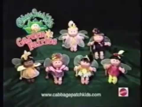 Cabbage Patch Kids Garden Fairies Ad (1998)