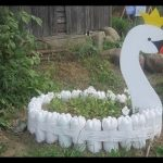 Creative Garden Craft Decoration from Recycled Waste Material – Reuse for Gardening