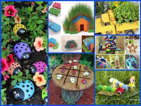 30+ Easy and Fan Garden Projects for Kids –  Summer DIY Crafts For Kids