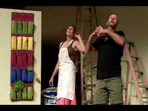 Shoe Rack Garden – vertical gardening