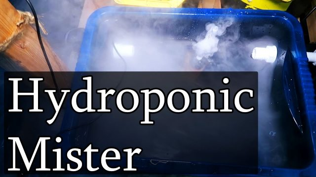 Cheap Ultrasonic Aeroponic / Hydroponic How-To