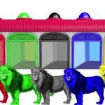 Finger Family w Lion King Colours ! Learn Color Video for kids! Garden Kids TV #2