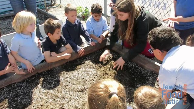 Building School Gardens at Kavod Elementary Charter School