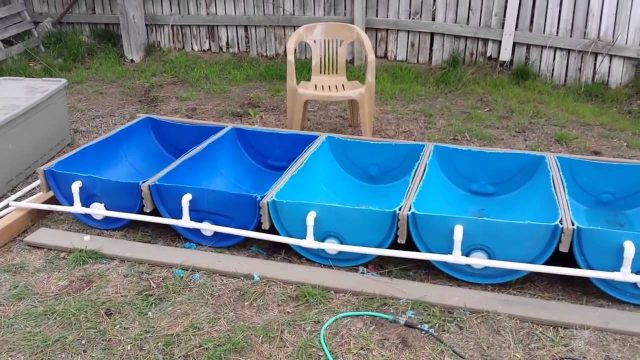 Self Sustaining, Economic Hydroponic Garden Build