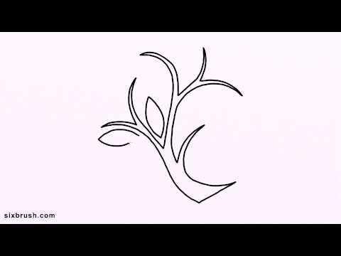 k 327 how to draw garden for kids step by step