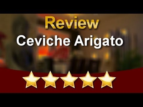 Ceviche Arigato Weston Superb Five Star Review by Rob G.