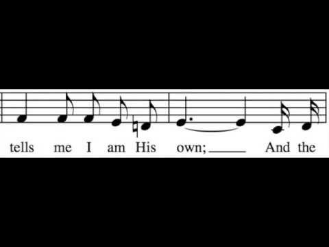 In the Garden – Alto Only – Learn How to Sing Hymns