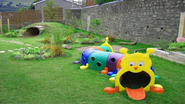 Interesting Garden Ideas for Kids Play | Children's Play Area
