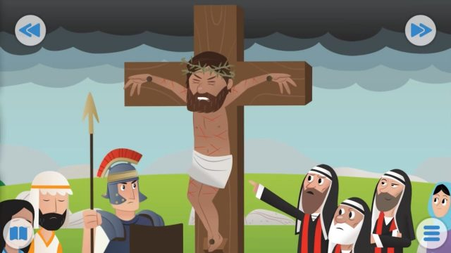 Bible for Kids – In the Garden, It Is Finished!, A Happy Sunday
