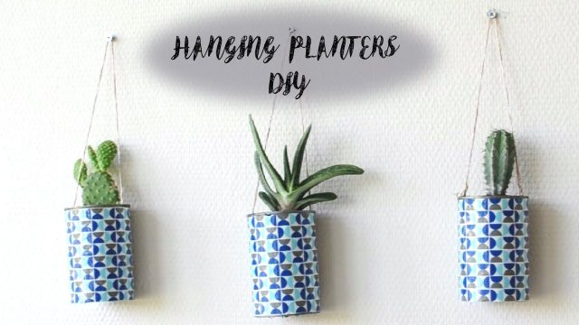 Easy Hanging Planter DIY | MVD